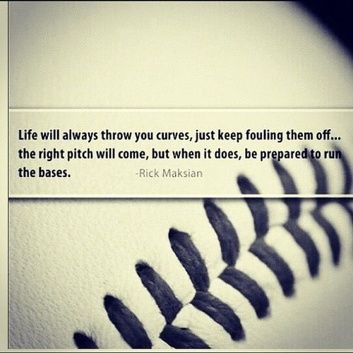 Baseball Quote 25 Picture Quote #1