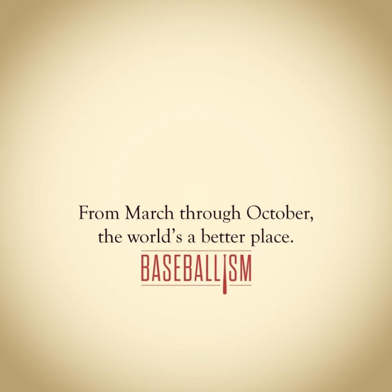 Opening Day Baseball Quote 1 Picture Quote #1