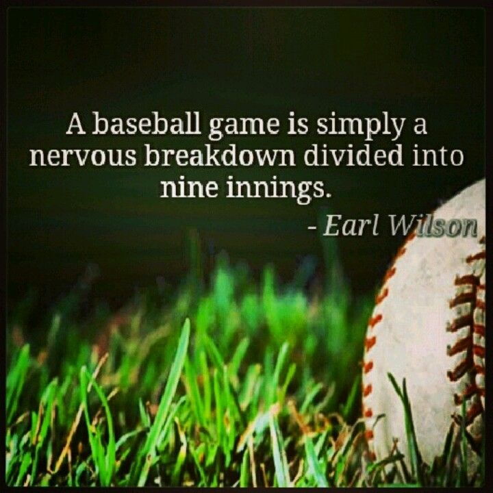 Baseball Quote 32 Picture Quote #1