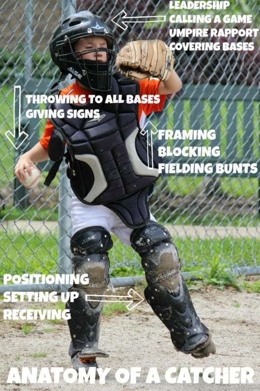 Catcher Funny Baseball Quote 1 Picture Quote #1