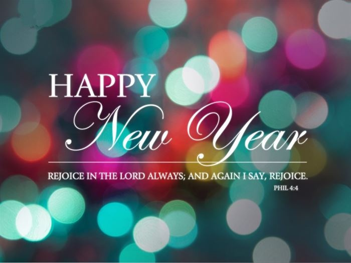 Happy New Year Christian Quote 1 Picture Quote #1