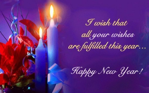 Wishing You A Happy New Year Quote 4 Picture Quote #1