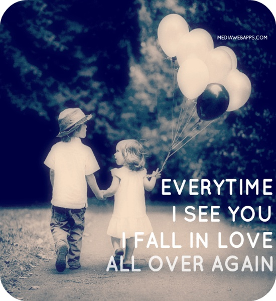 Falling In Love Again Quote 1 Picture Quote #1