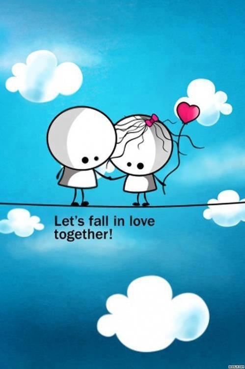 Cute Quote About Falling In Love 1 Picture Quote #1