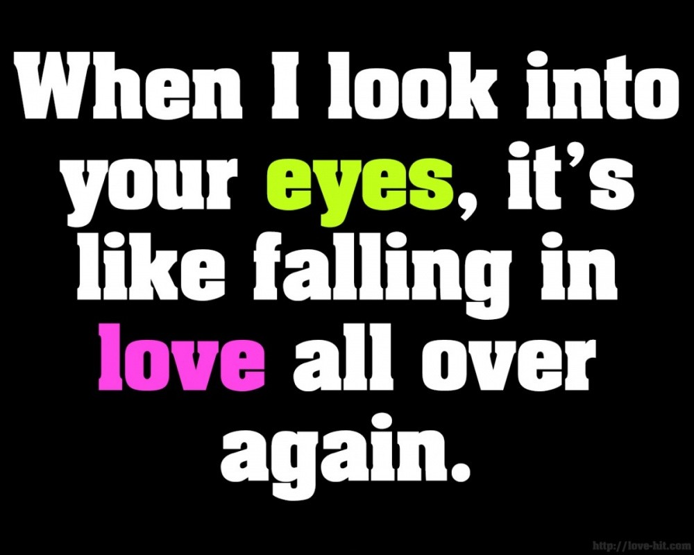 Cute Quote About Falling In Love 2 Picture Quote #1