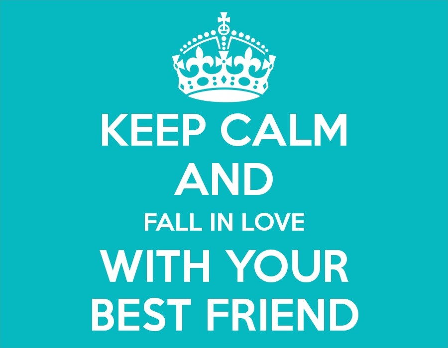 Falling In Love With Your Best Friend Quote 1 Picture Quote #1