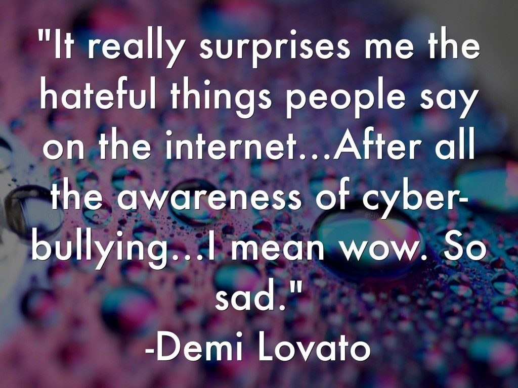 Cyberbullying Quote 1 Picture Quote #1