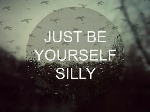 Be Yourself Quote Cute 1 Picture Quote #1