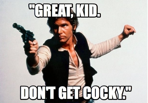 Star Wars Han Solo Quote 1 Picture Quote #1