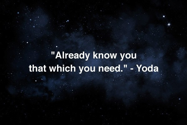 Star Wars Inspirational Quote 1 Picture Quote #1