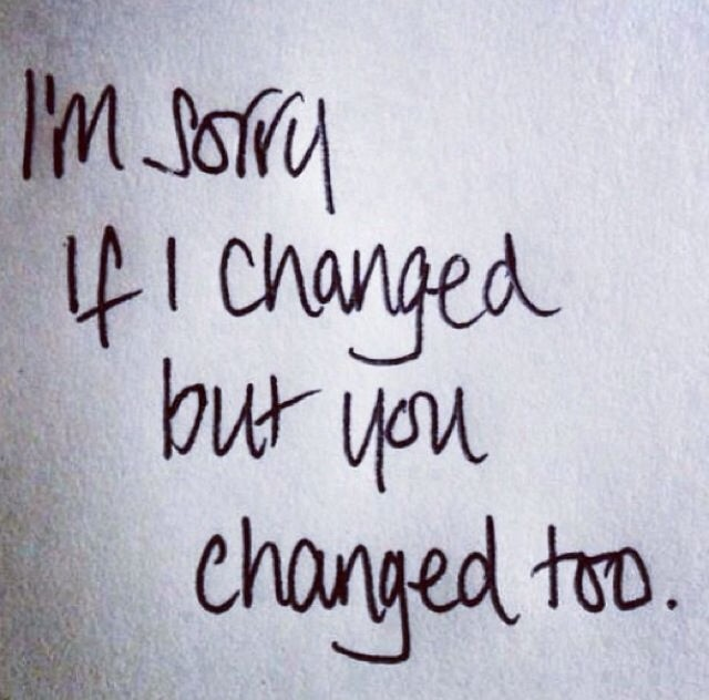 Disappointment Quote About Change 1 Picture Quote #1
