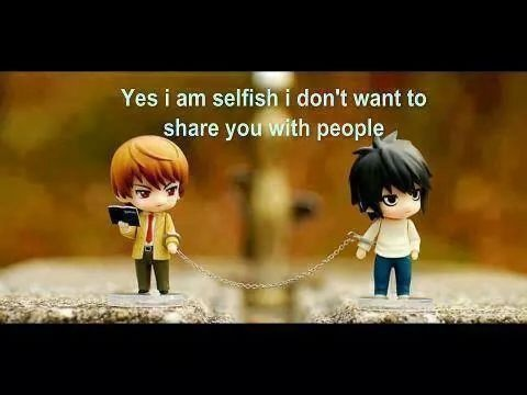 I Am Selfish Quote 1 Picture Quote #1