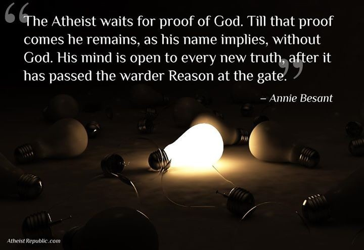 Atheist Quote About God 1 Picture Quote #1