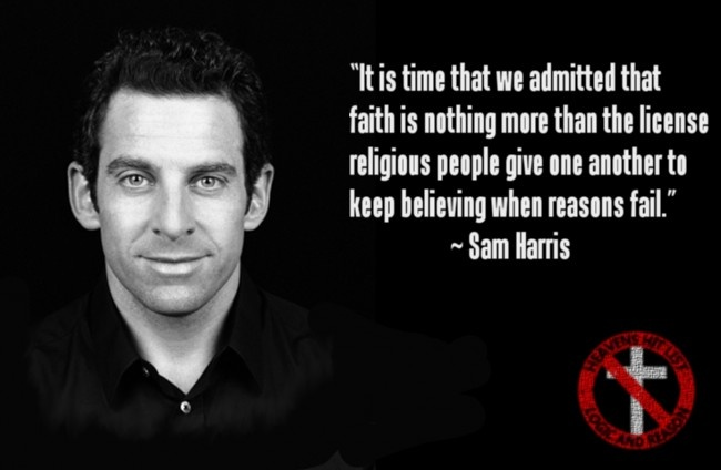Atheist Quote On Faith 1 Picture Quote #1
