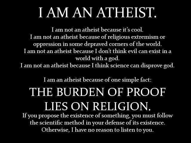 Atheist Quote 26 Picture Quote #1