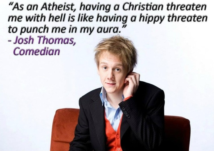 Atheist Quote On Hell 1 Picture Quote #1