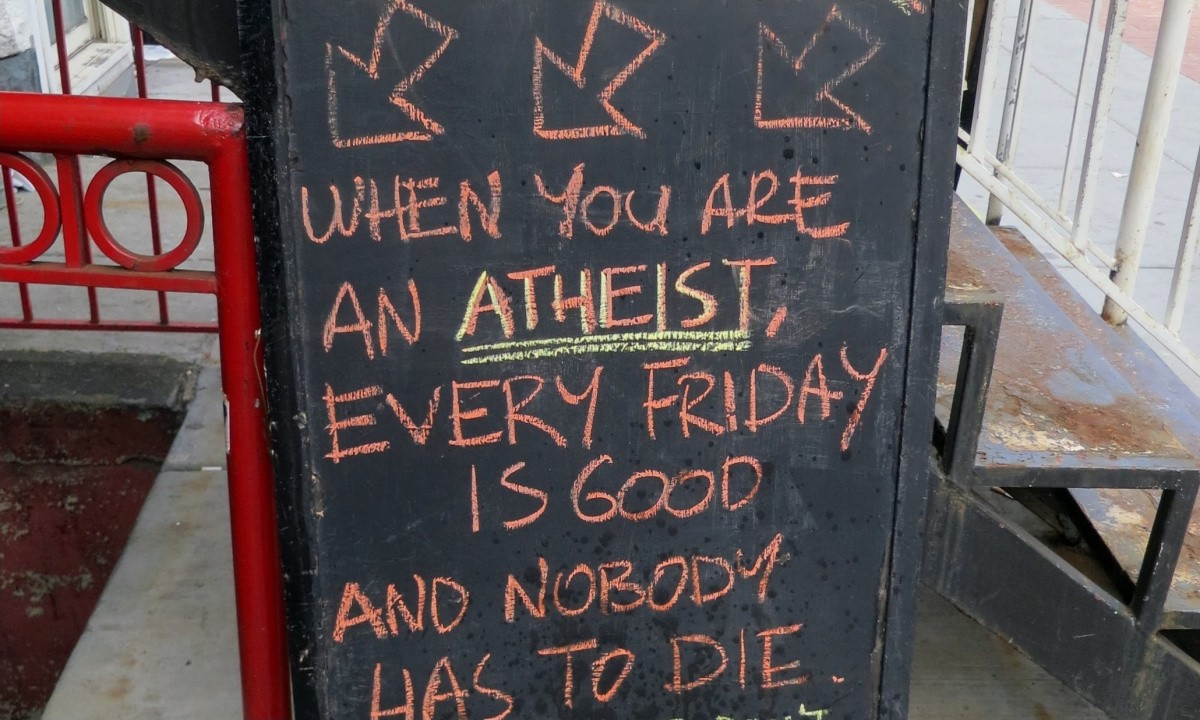 Atheist Quote 39 Picture Quote #1