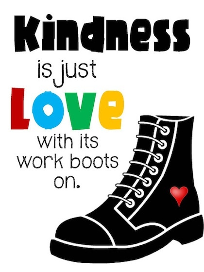 Showing Kindness Quote 1 Picture Quote #1