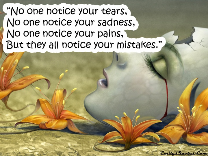 Tears Of Sadness Quote 1 Picture Quote #1
