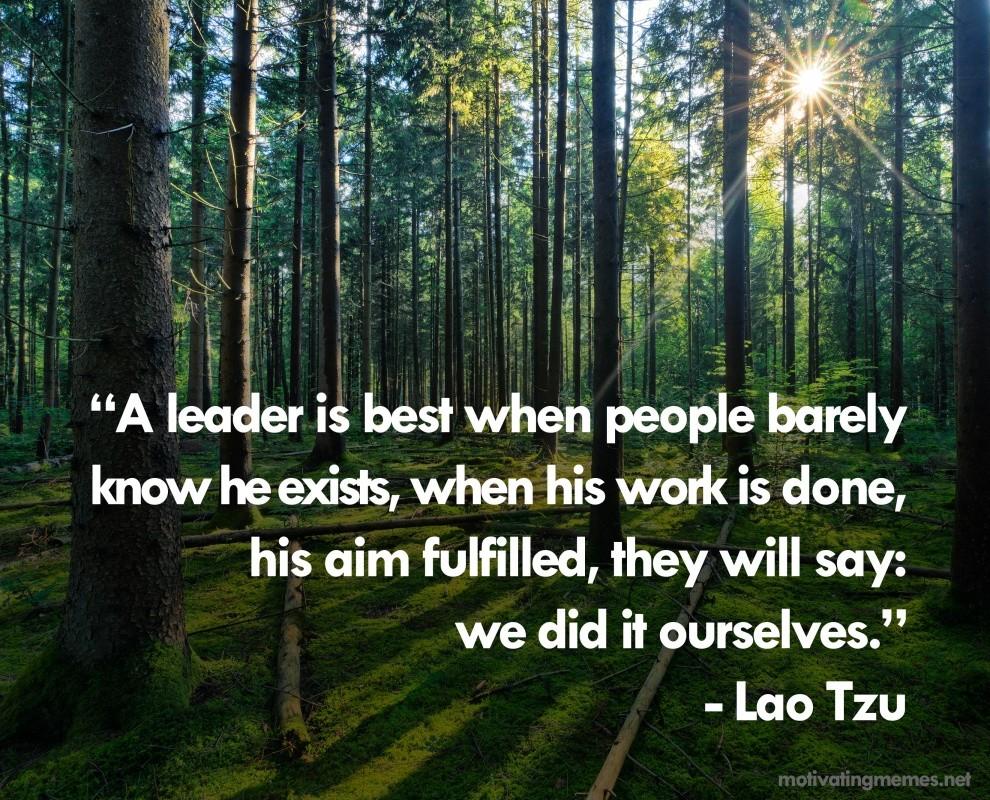 Lao Tzu Philosophy Quote 2 Picture Quote #1