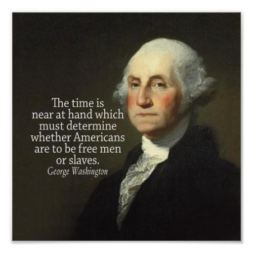 George Washington Quote 2 Picture Quote #1