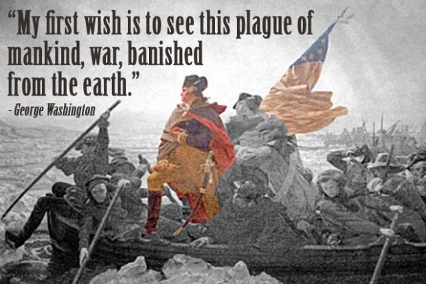 George Washington Quote On War 1 Picture Quote #1