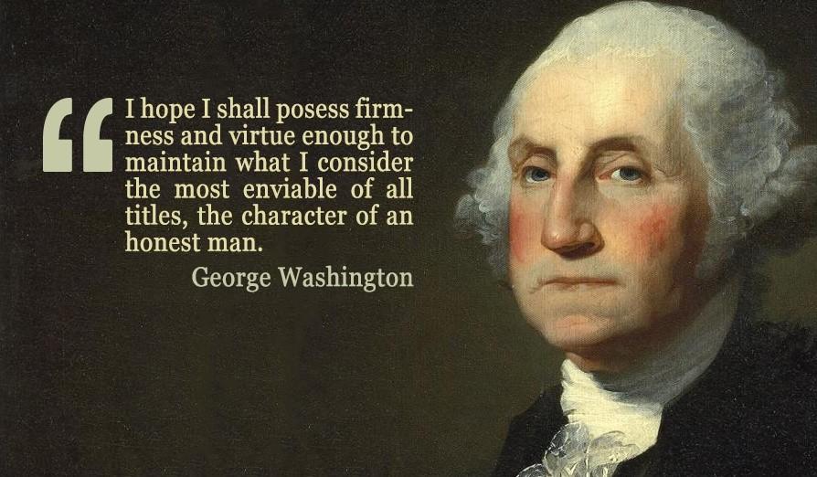George Washington Quote 9 Picture Quote #1