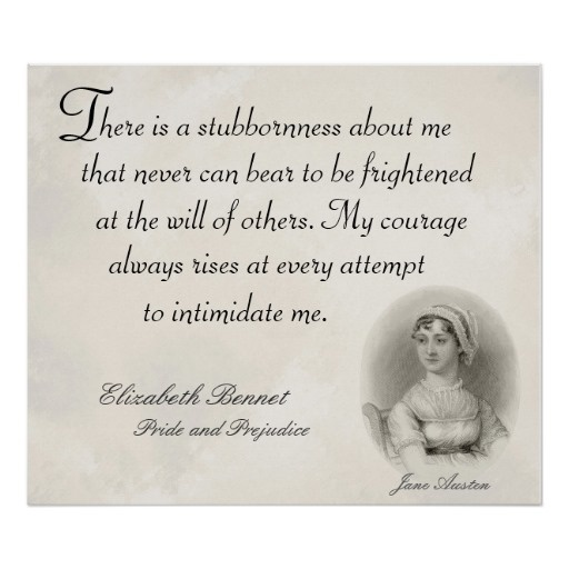 Jane Austen Pride And Prejudice Quote 4 Picture Quote #1
