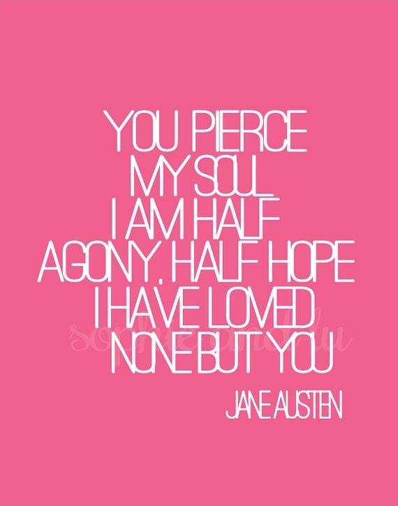 Persuasion Jane Austen Quote 1 Picture Quote #1
