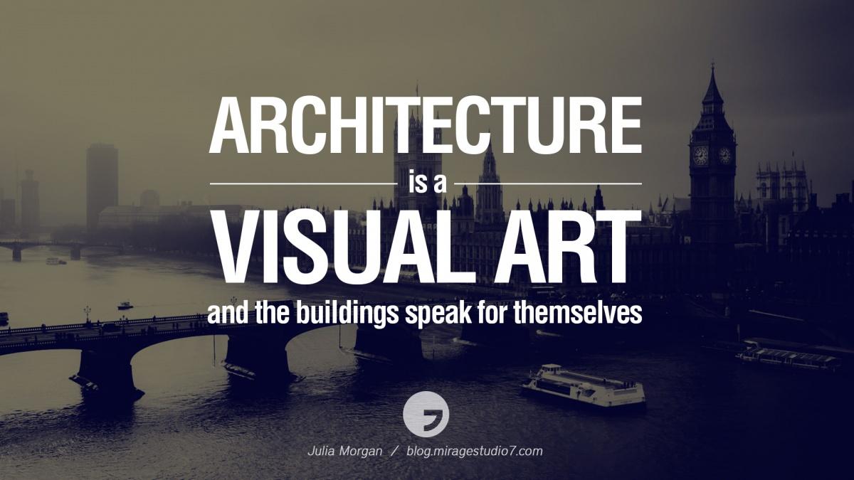 Architecture Quote 1 Picture Quote #1