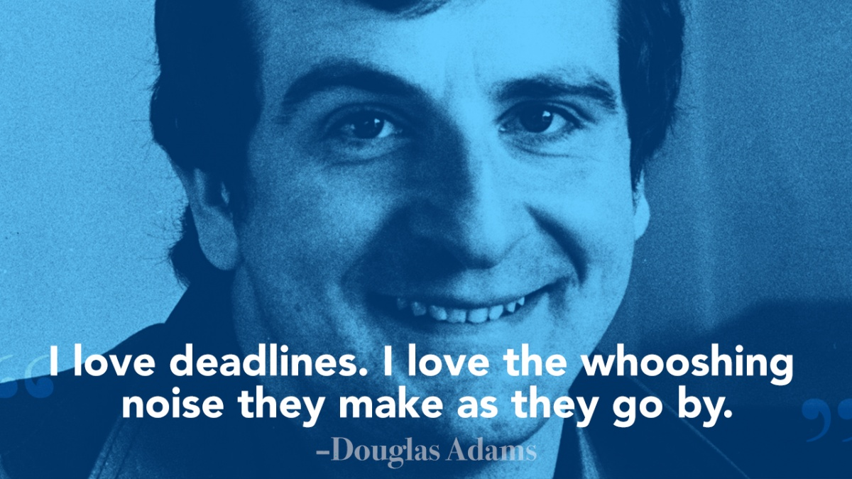 Douglas Adams Quote 2 Picture Quote #1