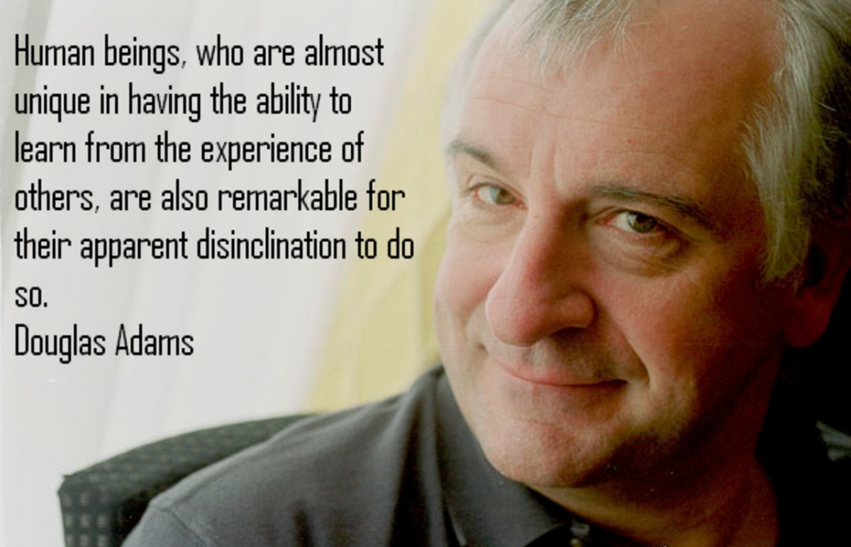 Douglas Adams Quote 6 Picture Quote #1