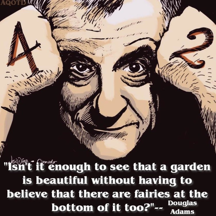 Famous Quote Douglas Adams 1 Picture Quote #1