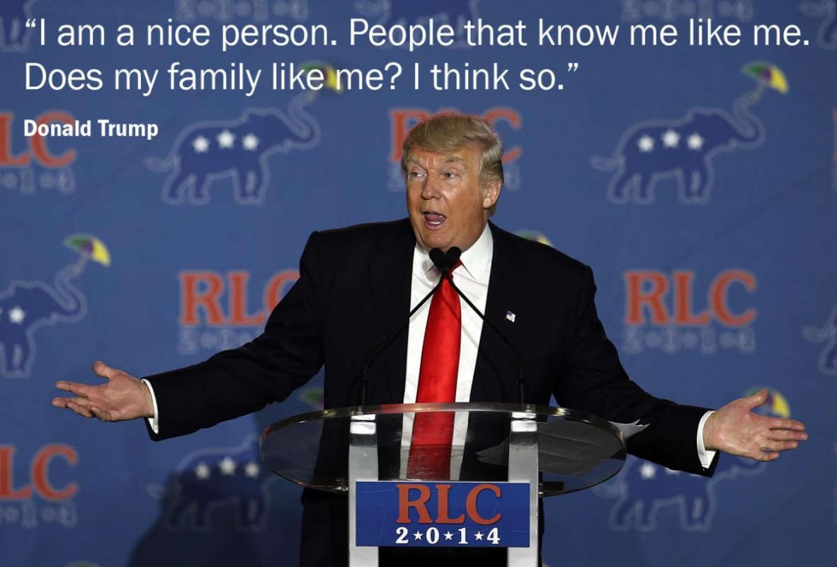 Donald Trump Quote On Leadership 1 Picture Quote #1