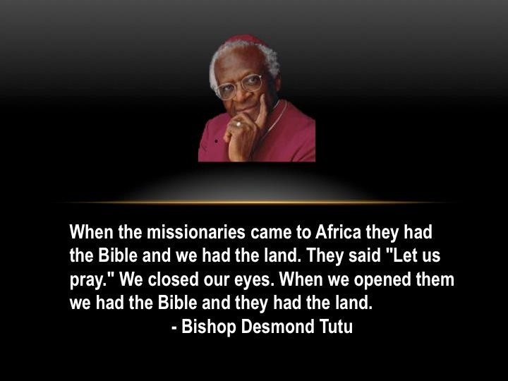 Bishop Desmond Tutu Quote 1 Picture Quote #1