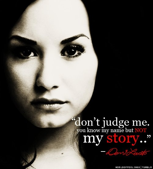 Demi Lovato Quote 1 Picture Quote #1