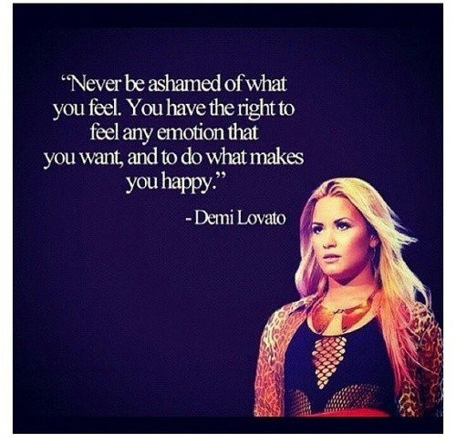 Demi Lovato Quote 6 Picture Quote #1