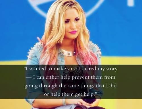 Demi Lovato Quote 15 Picture Quote #1