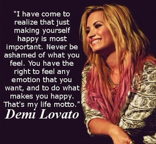 Demi Lovato Quote 17 Picture Quote #1