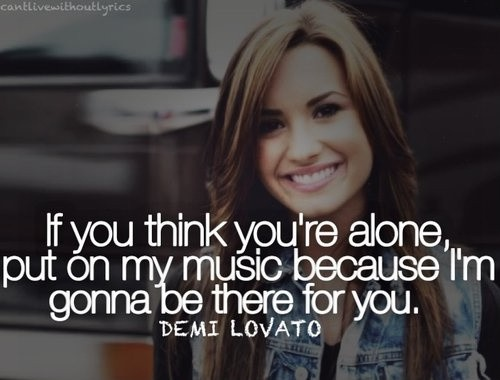 Demi Lovato Quote 22 Picture Quote #1
