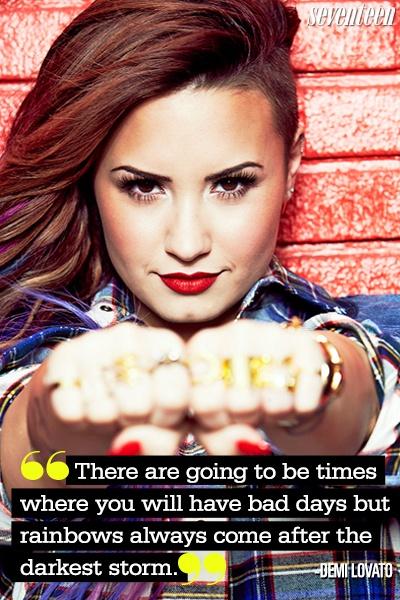 Demi Lovato Inspirational Quote 2 Picture Quote #1