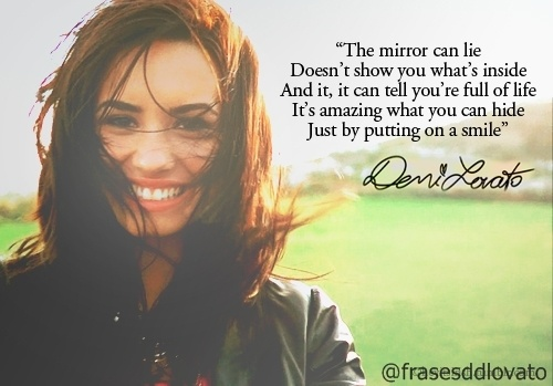Demi Lovato Inspirational Quote 3 Picture Quote #1