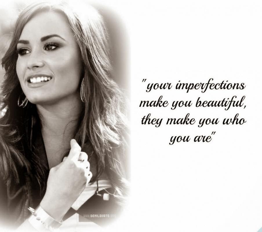 Demi Lovato Quote Nine Picture Quote