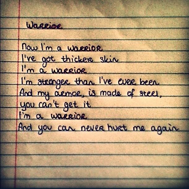 Warrior Picture Quotes