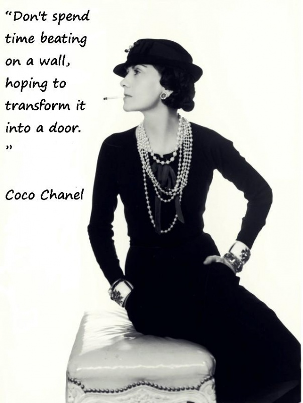Coco Chanel Quote 3 Picture Quote #1