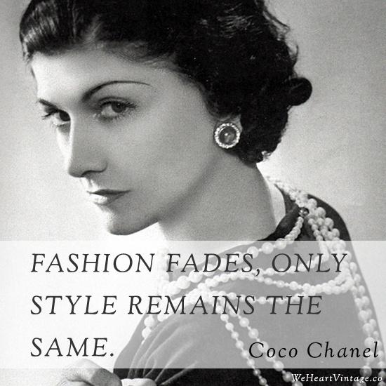 Coco Chanel Quote 5 Picture Quote #1