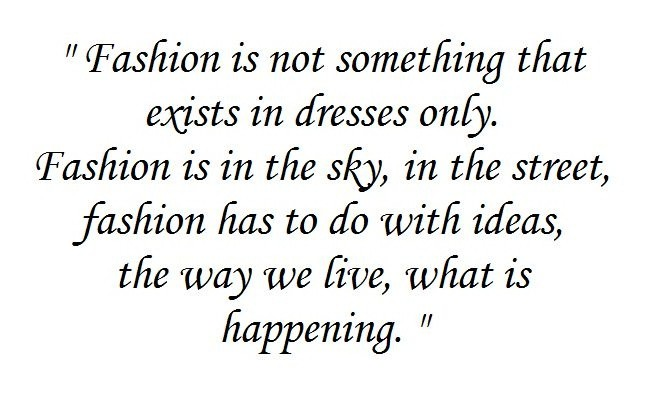 Coco Chanel Fashion Quote 4 Picture Quote #1