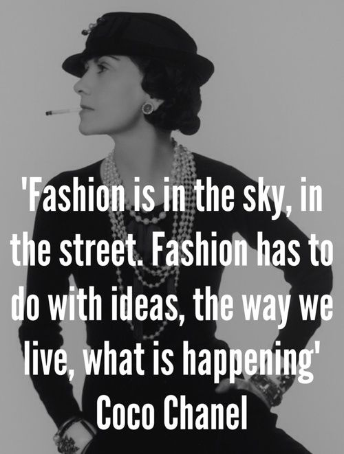 Coco Chanel Fashion Quote 4 Picture Quote #2
