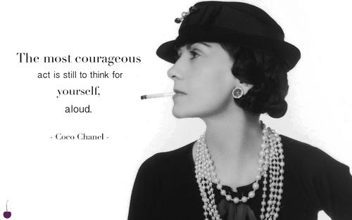 Gabrielle Coco Chanel Quote 2 Picture Quote #1