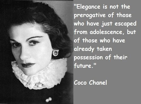 Gabrielle Coco Chanel Quote 4 Picture Quote #1